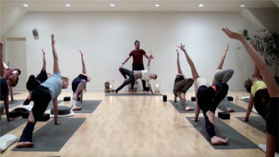 Element Yoga YogaRaumOnline Videos zu Haus Standbild
